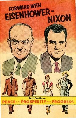 Forward with Eisenhower-Nixon: let's continue peace, prosperity, progress