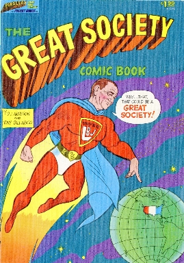 The great society comic book