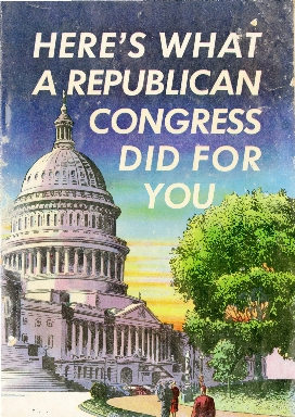 Here's what a Republican Congress did for you