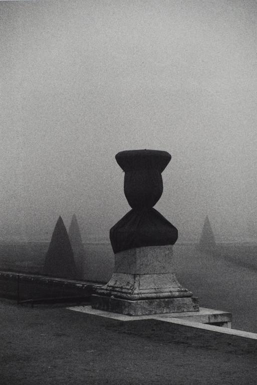 Untitled (Shrouded Urn in Garden of Versailles, France)