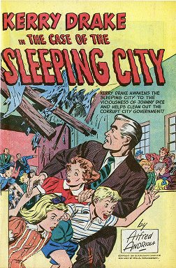 Kerry Drake in the Case of the Sleeping City