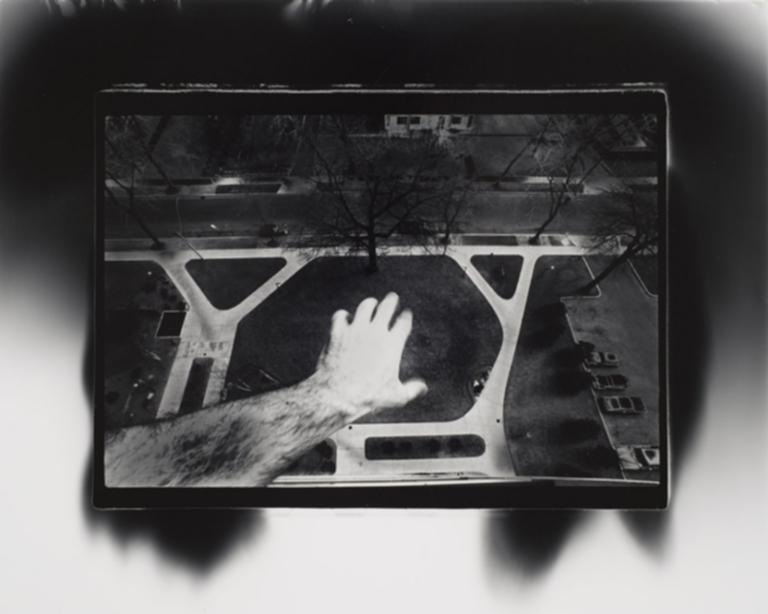 Untitled (Hand Over Aerial View)