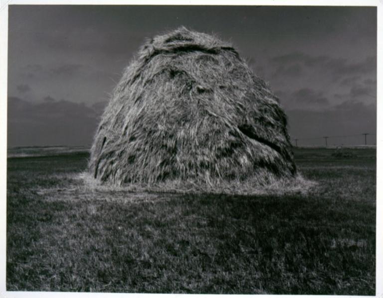 Haystack near Norfolk, Nebraska