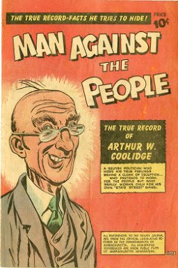 Man agains the people : the true record of Arthur W. Coolidge