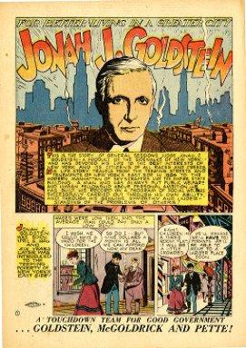 For better living in a greater city : Jonah J. Goldstein