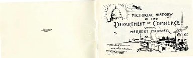 Pictorial history of the Department of Commerce under Herbert Hoover